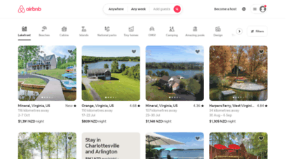 airbnb.co.nz - holiday rentals, homes, experiences & places - airbnb