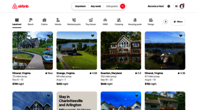 airbnb.com - vacation rentals, homes, experiences & places - airbnb