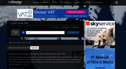aircharterguide.com - air charter guide - a definitive resource for online aircraft charter