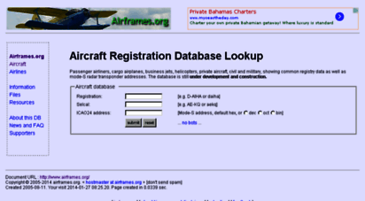 airframes.org