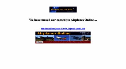 airplanesofthepast.com