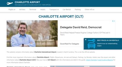airport-charlotte.com - charlotte douglas international airport