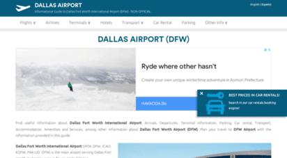 airport-dallas.com - dallas airport dfw