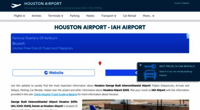 airport-houston.com - houston airport iah