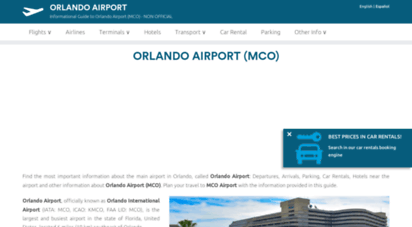 airport-orlando.com - orlando international airport
