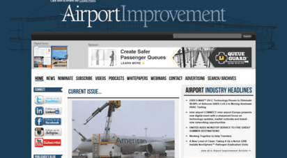 airportimprovement.com - chapel road communications - airport improvement magazine