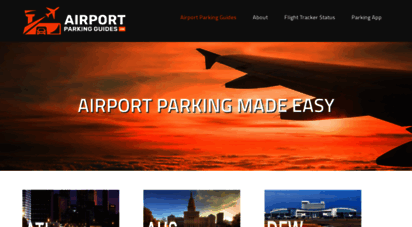 airportparkingguides.com - airport parking guides  airport parking made easy