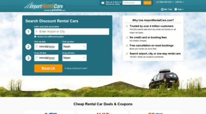 airportrentalcars.com - airportrentalcars.com  cheap rental cars: airport car rental deals
