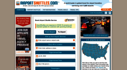 airportshuttles.com - airport shuttle service & reservations