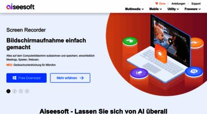aiseesoft.de - offiziell aiseesoft - die besten software-lösungen für multimedia & smartphone