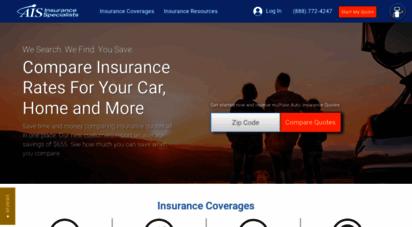 aisinsurance.com - insurance specialists: get an online insurance quote