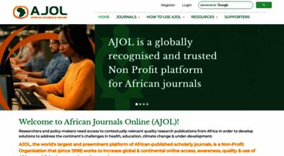 ajol.info - african journals online