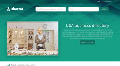 akama.com - akama - the usa´s local business search engine