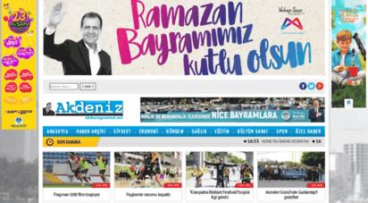 akdenizgazetesi.net - akdeniz gazetesi  resmi web sitesi