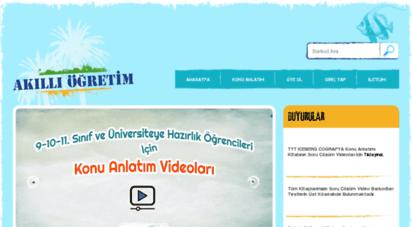 akilliogretim.com - akıllı öğretim sistemi