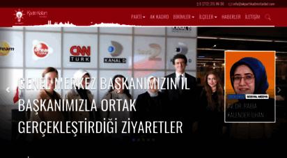 akpartikadinistanbul.com - ak parti kadın kolları istanbul - istanbul