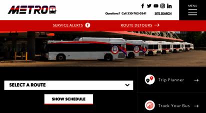 akronmetro.org - akron metro bus, metro rta, akron metro bus schedule
