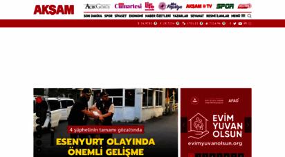 aksam.com.tr - akşam - haberler - son dakika haberleri