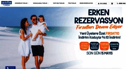 aktiviteturizm.com - aktivite turizm  günübirlik turlar, yurtiçi turlar  0850 466 06 61