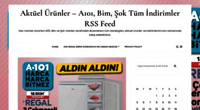 aktuelurun.org - aktüel ürünler ve kampanyalar