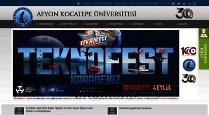 aku.edu.tr - akademik personel kişisel web sitesi sistemi- afyon kocatepe üniversitesi