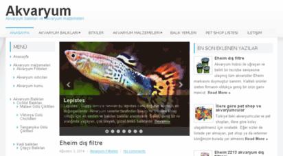 akvaryum.biz - akvaryum balıkları ve lepistes üretimi