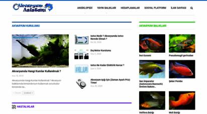 akvaryumasistani.com - akvaryum asistanı » akvaryum dünyasına dair herşey