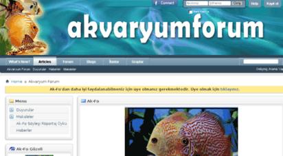 akvaryumforum.com - akvaryum forum - akvaryum hakkında herşey, balıklar, bitkiler, makaleler