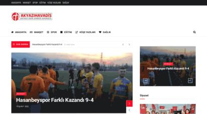 akyazihavadis.com - akyazı havadis haber  son dakika akyazı net haberleri