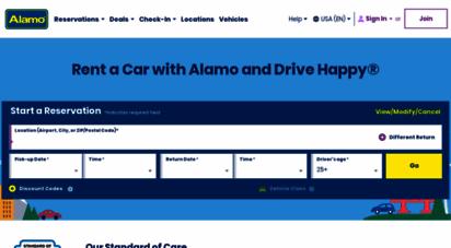 alamo.com - alamo rent a car - rental car deals, cheap last minute specials