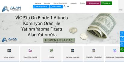 alanyatirim.com.tr - alan menkul deðerler a.þ.