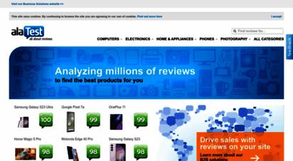 alatest.com - product reviews, tests & price comparison - alatest.com