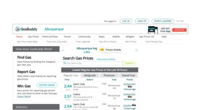 Cheap Gas Albuquerque >> Welcome To Albuquerquegasprices Com Albuquerque Gas Prices Find
