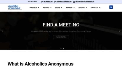 alcoholics-anonymous.eu -