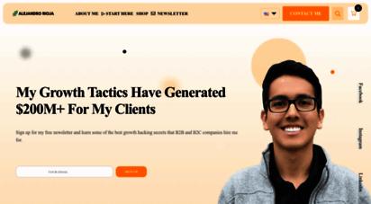 alejandrorioja.com - 🚀 alejandro rioja - learn the best seo, sem, and growth tactics