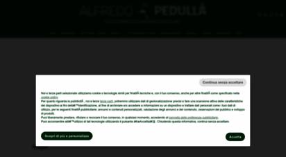 alfredopedulla.com - alfredo pedullà sito ufficiale - alfredo pedulla´ sito ufficiale