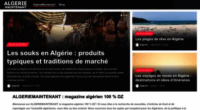 algeriemaintenant.com -