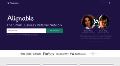 alignable.com - alignable: the small business network