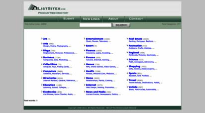 alistsites.com - a list sites
