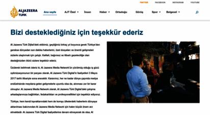 aljazeera.com.tr - al jazeera turk - ortadoğu, kafkasya, balkanlar, türkiye ve çevresindeki bölgeden son dakika haberleri ve anlizler