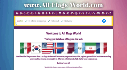 all-flags-world.com - all flags word - the biggest database of flags on the web