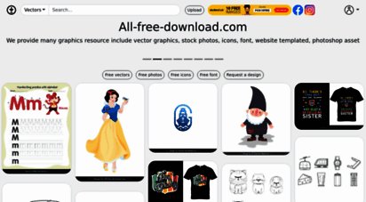 all-free-download.com - free vector graphic art, free photos, free icons, free website templates, psd graphic, photoshop brush, font, footage free download