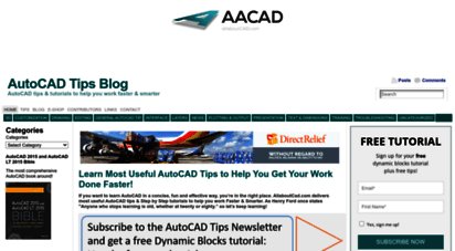 allaboutcad.com - learn most useful autocad tips to help you get your work done faster! - autocad tips blog