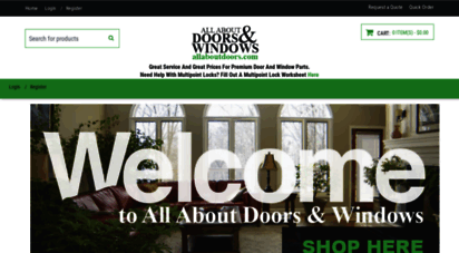 allaboutdoors.com - window and door parts  all about doors and windows