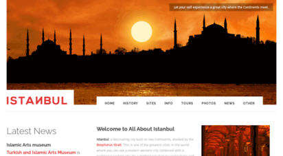 allaboutistanbul.com - istanbul city guide - all about istanbul