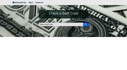 allbankswiftcodes.com - find swift code / bic bank identifier code of all banks