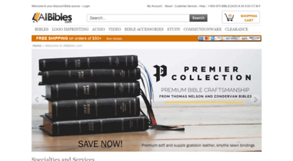 allbibles.com - bibles: buy discount bibles, bible covers and more at allbibles.com
