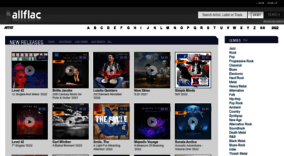 allflac.com - lossless music download - world`s biggest flac dowload archive