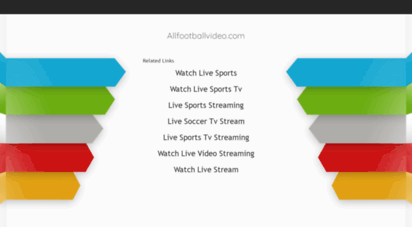 allfootballvideo.com - latest football highlights and goals, tous les buts, mac ozeti,resumen
