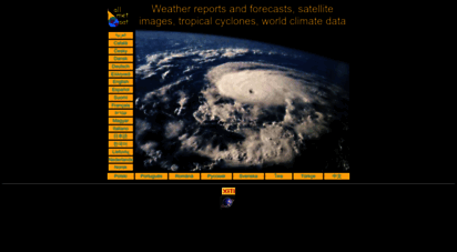 allmetsat.com - allmetsat - weather reports and forecasts, satellite images, tropical cyclones, world climate data.